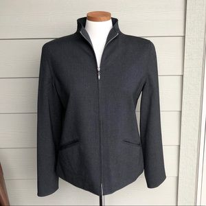 Ralph Lauren Zip-Up Blazer